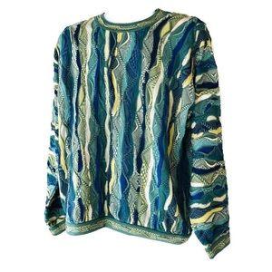 Coogi Australia Cotton Sweater Size Large